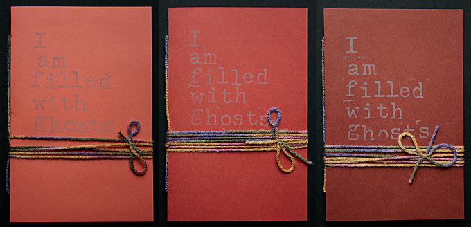 I am filled with ghosts vol.1