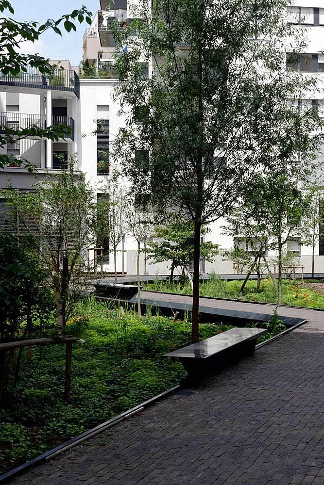 Docks de Saint-Ouen ZAC, Landscape development by Atelier 2/3/4/