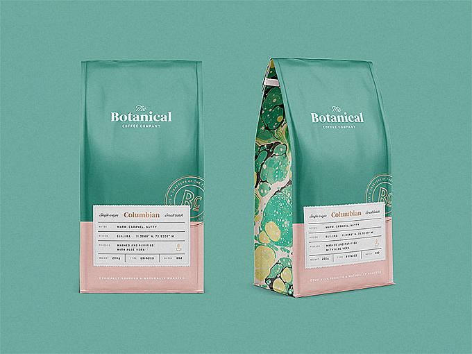 Botanical Coffee Co Packaging