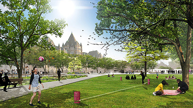 Viger Square is about to reclaim its past glory with the redesign by NIPPAYSAGE November 24, 2016,AEST