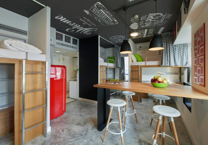 Hotel transformed into an affordable student housing