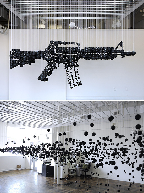 Who Killed Bambi? Bloody Good Art Contemporary Art Blog Part 3 #installation