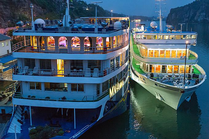 Cruise in China Yangtze River