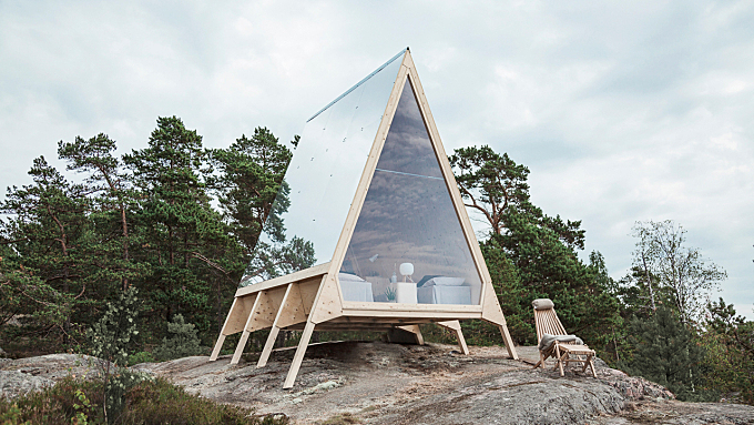 The A-Frame Nolla Cabin in Finland Has a Minimal Carbon Footprint