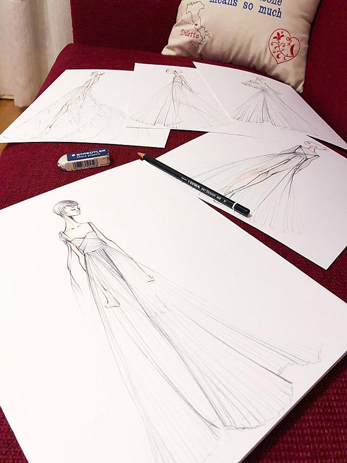 Dior Illustrations
