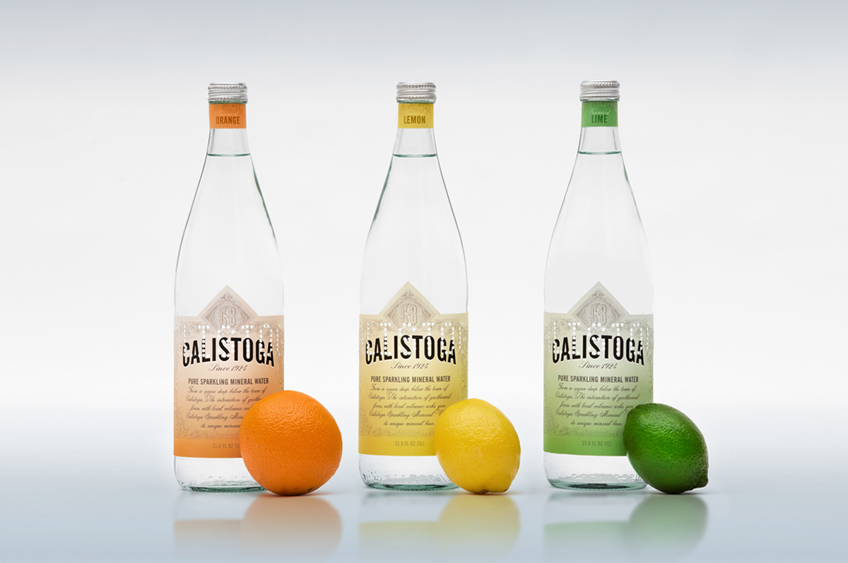 Calistoga Sparkling Mineral Water