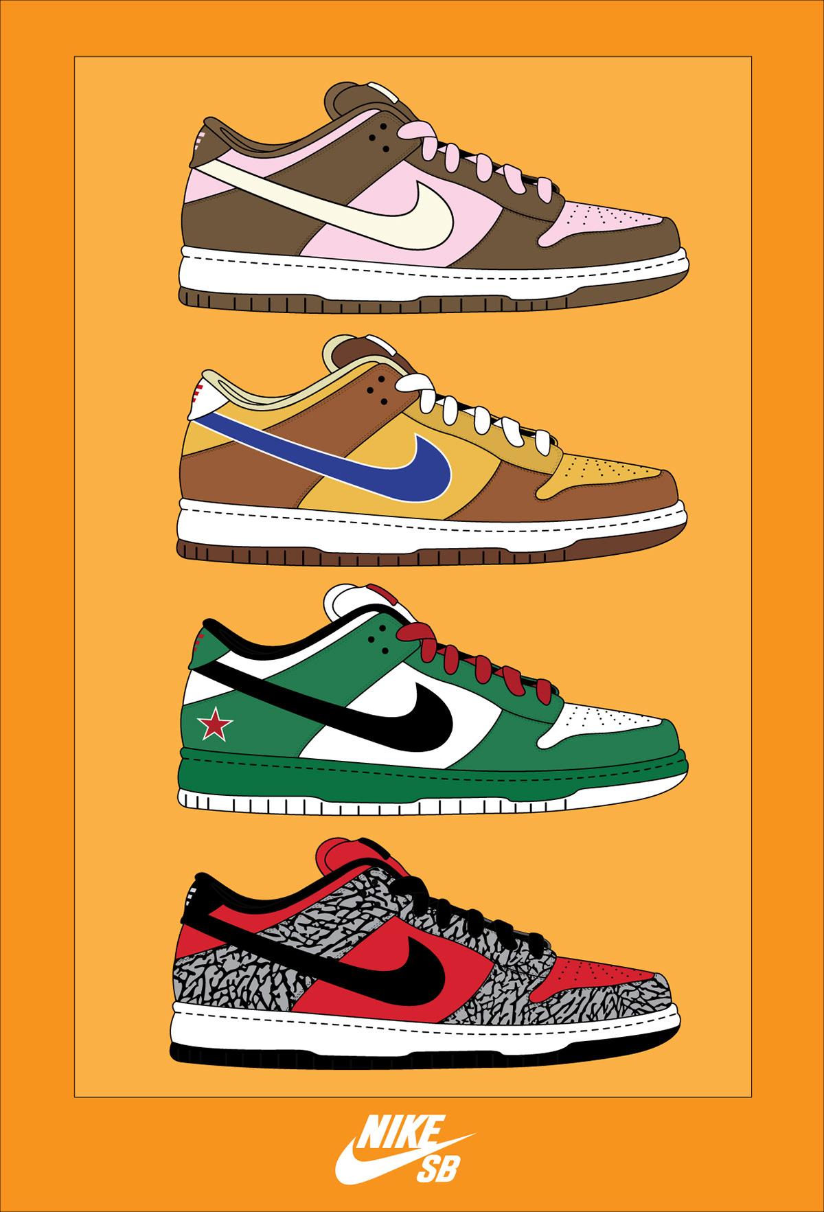 Nike Sb Poster