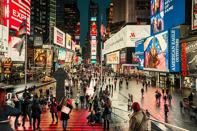 Times Square Redesign by Snøhetta, Just Opened