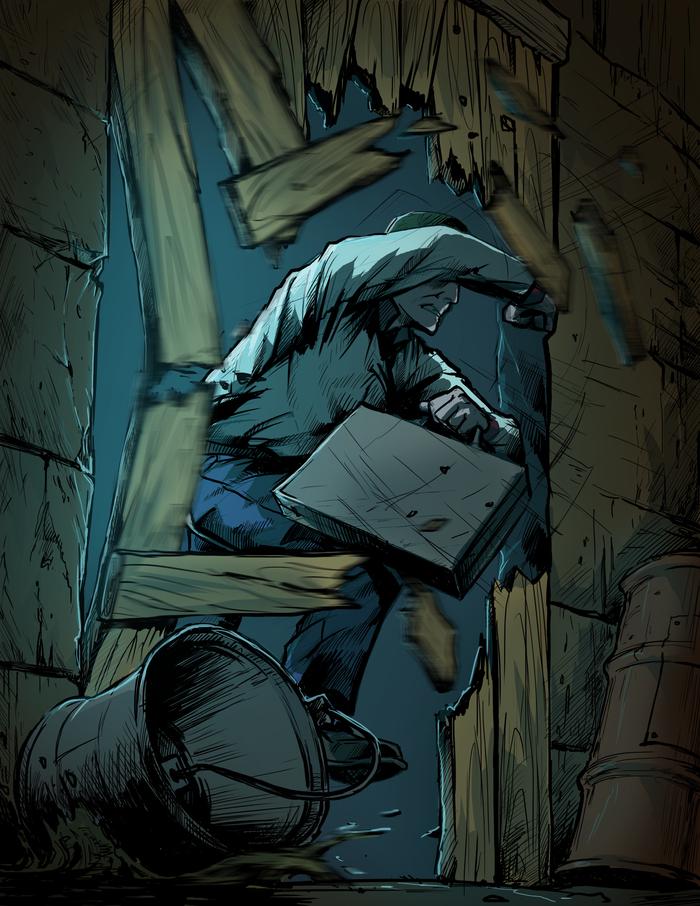 страница комикса