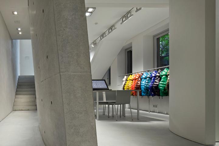 Duvetica showroom by Tadao Ando, Milan - Italy