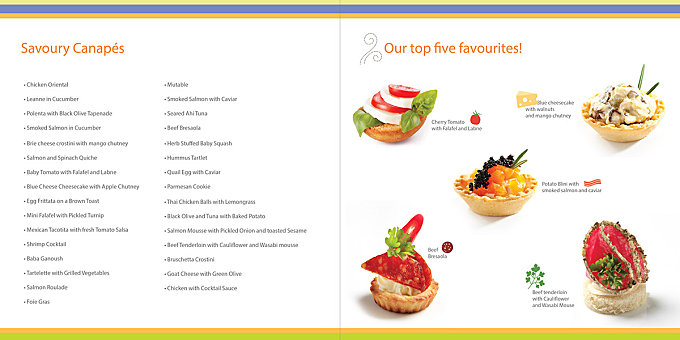 Forty Carrots - Catering Menu