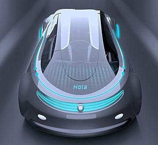 SEAT Meet Autonomous Car Concept Proposal for The Year of 2030