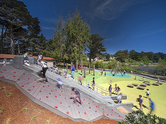 Mountain Lake Playground | San Francisco, CA, USA | Bohlin Cywinski Jackson March 8, 2018,AEDT