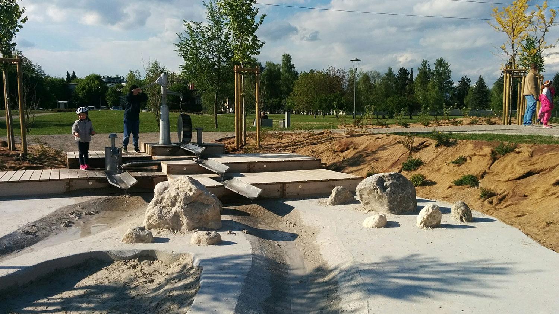 Šmartinski Park, Playground by LUZ