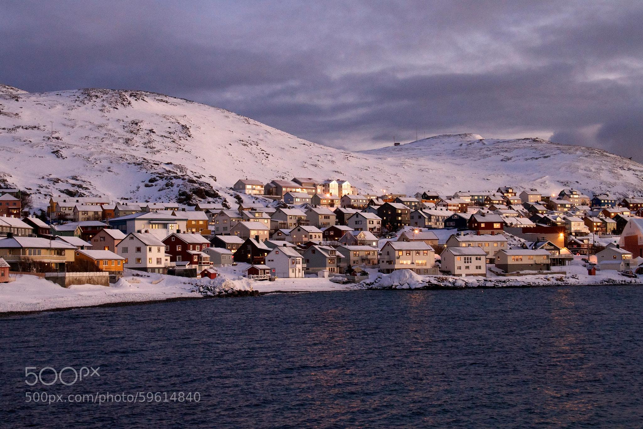 Snowy Honningsvag