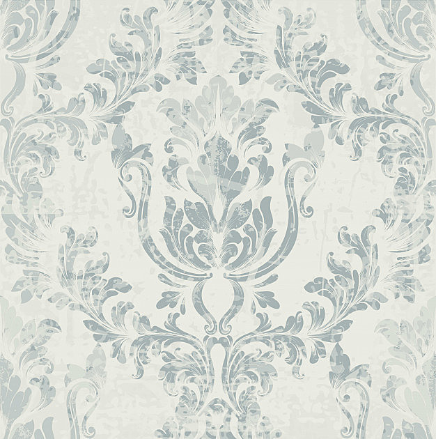 Imperial rococo pattern , baroque background