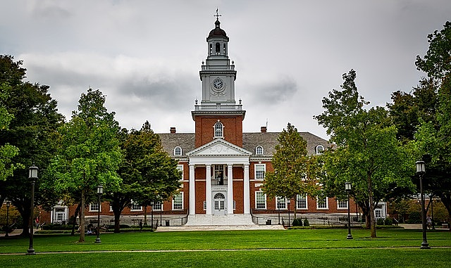 johns hopkins university gilman hall school universities colleges education baltimore maryland hdr sky clouds landscape building structure clock tower landmark historical campus students academic baltimore maryland maryland maryland maryland maryland campus campus students