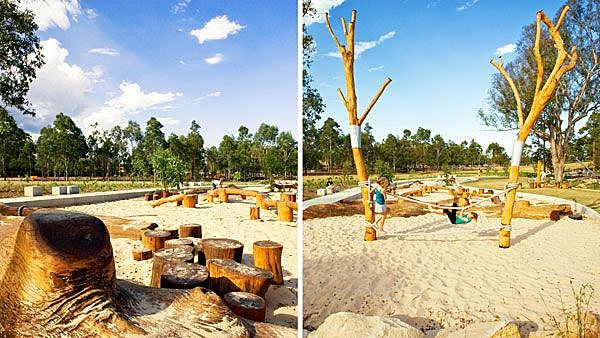 How Lizard Log Playground and Park will Make You Rethink how a Park is Designed
