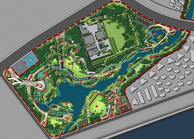 浩丰规划设计集团 - 四川省眉山南湖湿地公园规划设计 1 1