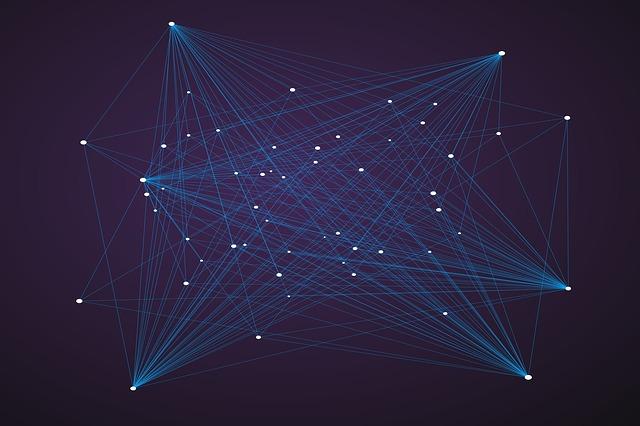 technology, illuminated, abstract