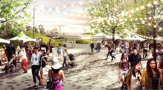 DTAH selected for Waterfront Park at Ontario Place May 10, 2018,AEDT