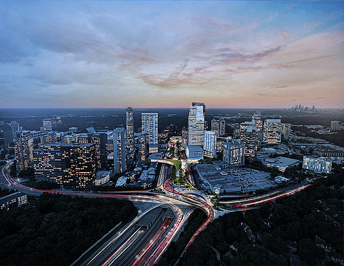 Floating Above a Freeway, Innovative New Park Celebrates Walkability in Atlanta October 19, 2016,AEDT