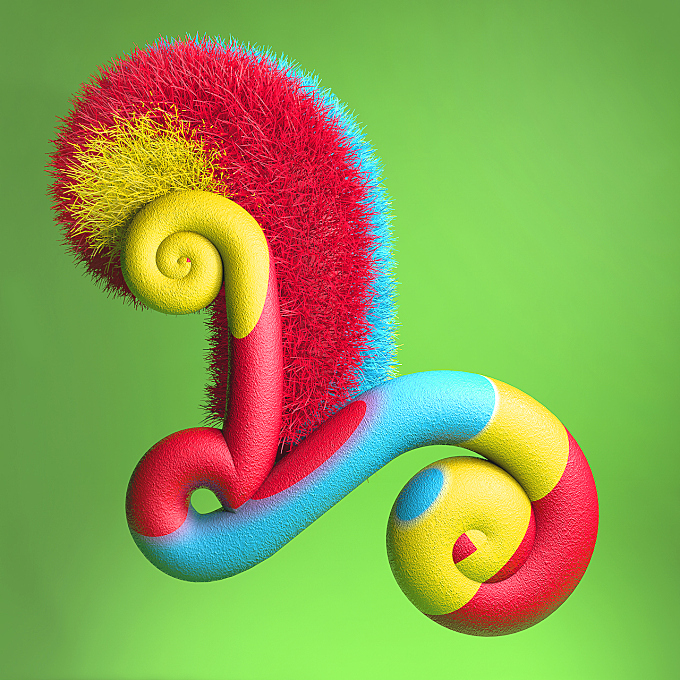 Delicious, Candy-Like Typography