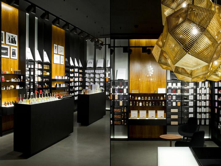 Crème dela crème shop by Inblum Architects, Klaipeda - Lithuania