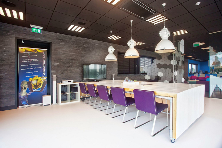 Alien Trick offices by the employees of AlienTrick, Hengelo - The Netherlands