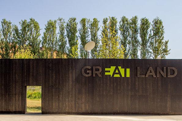 意大利临时绿地装置艺术
