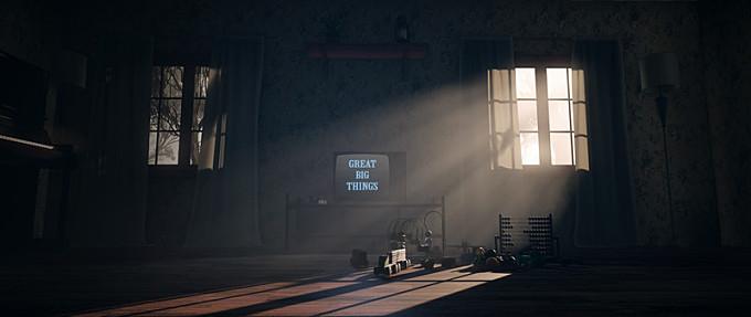 Living Room - Lighting Study