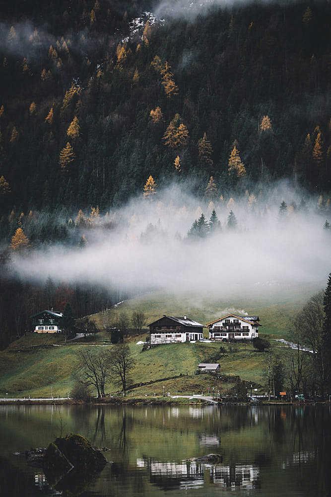 Bavarian houses.