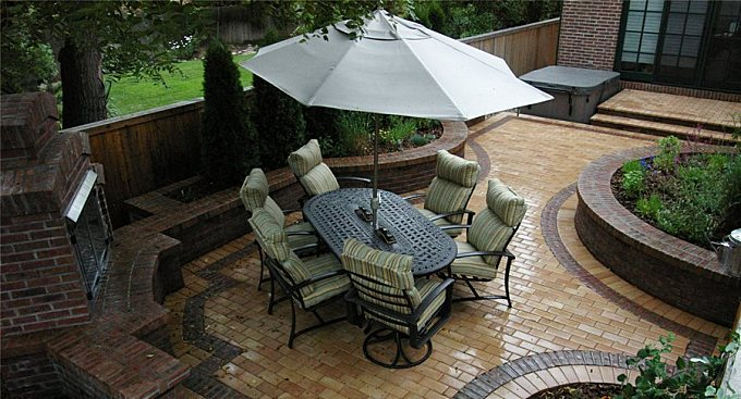 Clay Brick Pavers - Landscaping Network