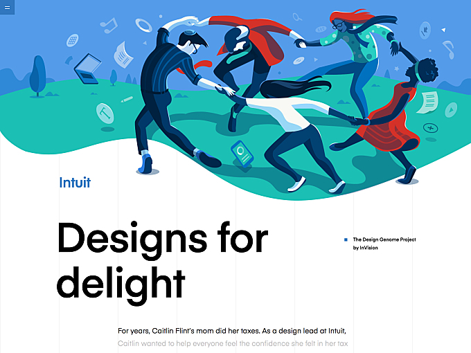Design Genome project - Intuit
