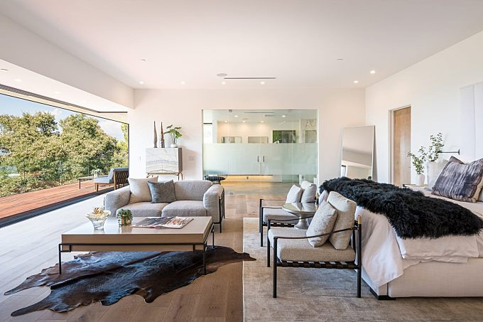 Mulholland Hills Home by Dougal Murray