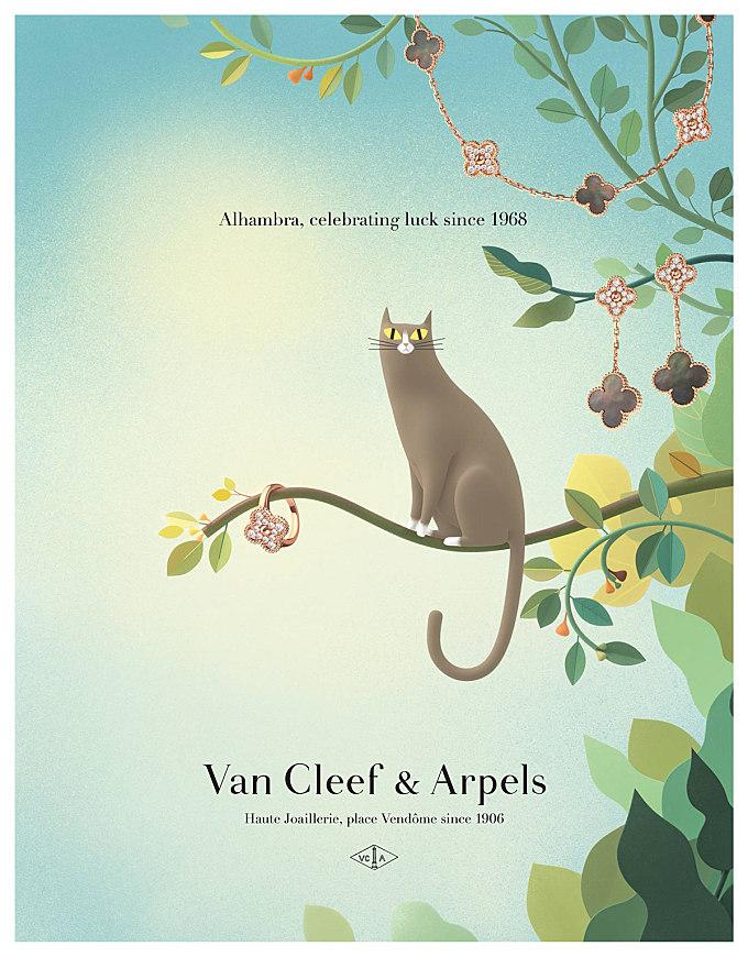 Van Cleef & Arpels - Alhambra by Burcu & Geoffrey