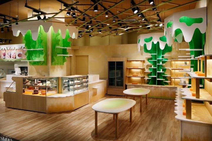 MOMOM store by Moriyuki Ochiai Architects, Tokyo - Japan