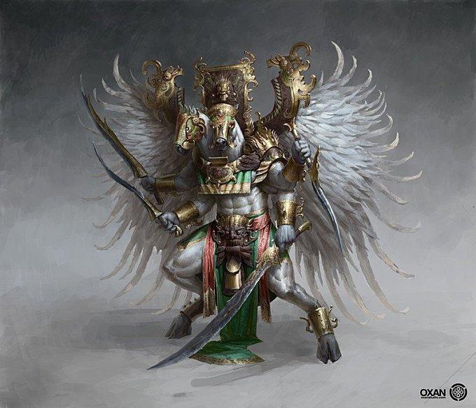 Pegasus God