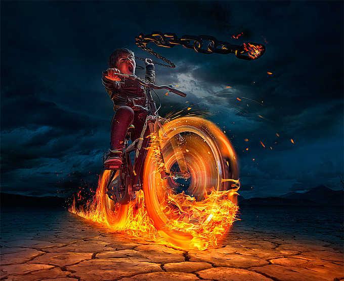 ghost rider :)