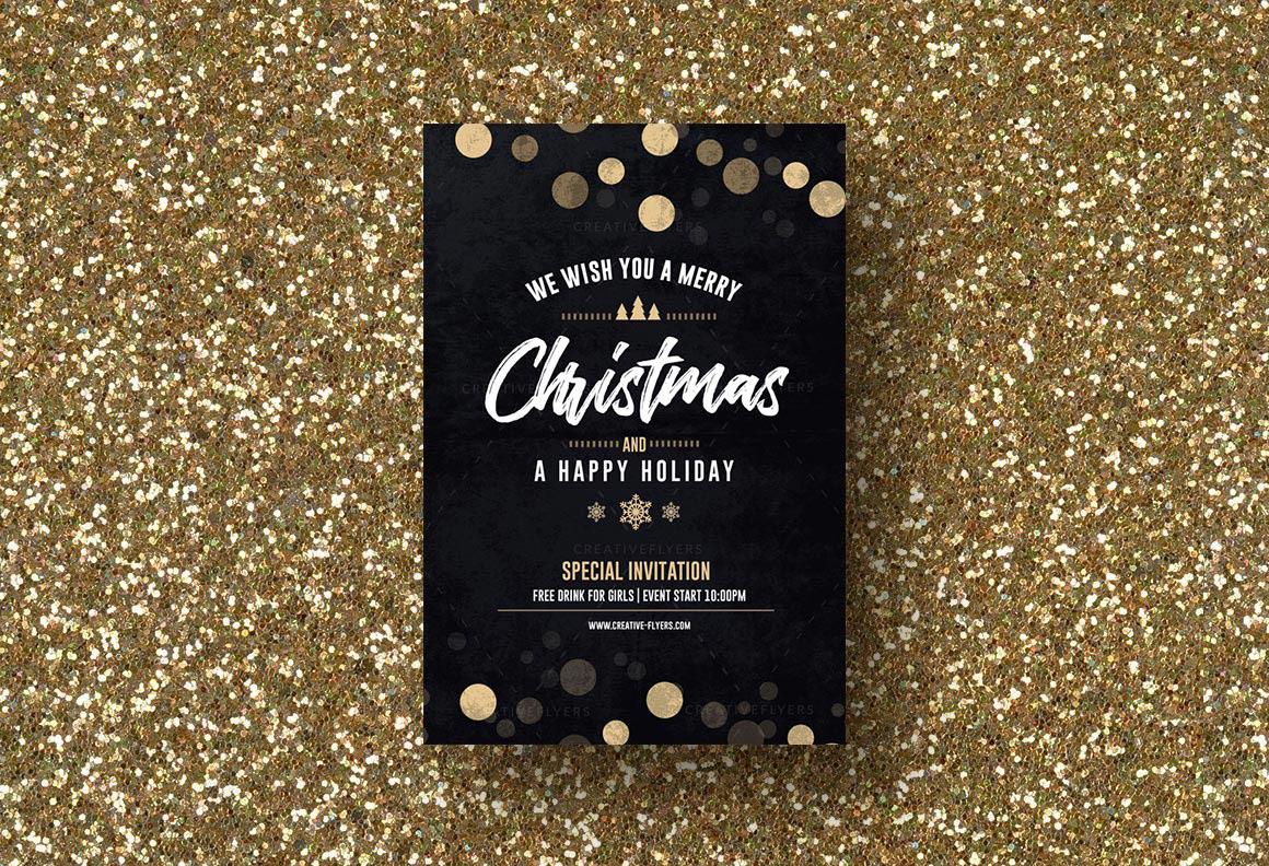 Christmas Flyer Template Psd