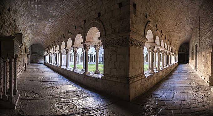 Claustro de la catedral de Gerona