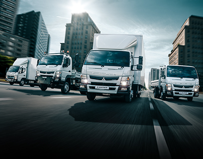 FUSO Canter Truck Force