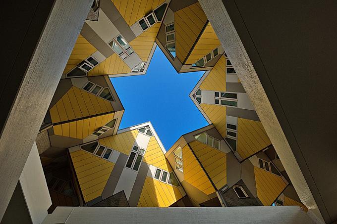 Cubic – striking architectural symbol of Rotterdam
