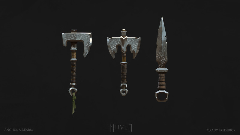Haven - Anghus' Melee Weapon Design