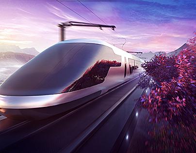 AGC Glass / Train Concept Images