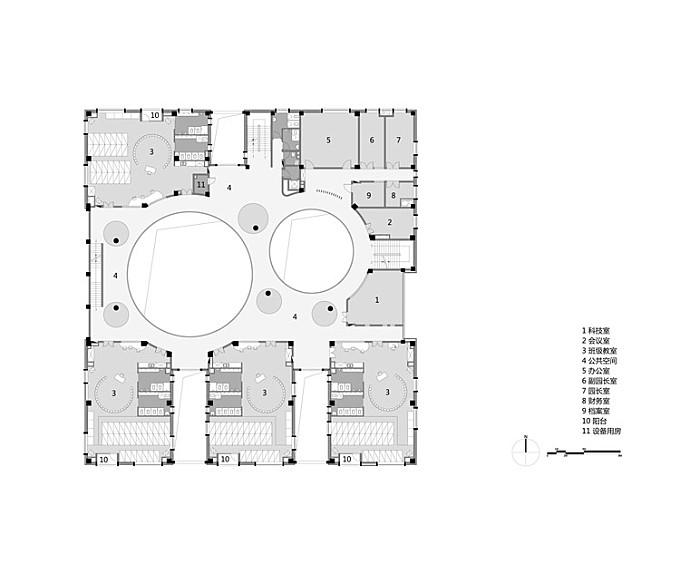 Between Square and Circle: Xinnan Kindergarten / Jin Niu