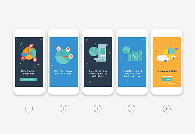 Timepot — Landing Page