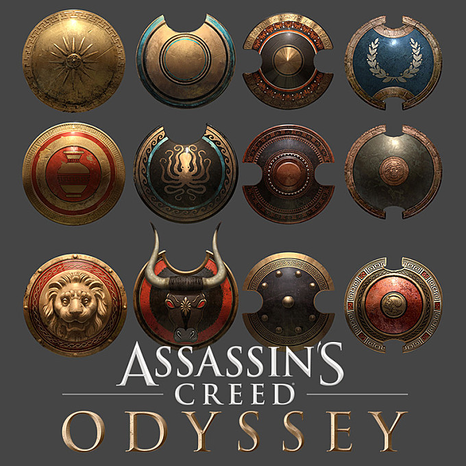 Assassin's Creed Odyssey Shields
