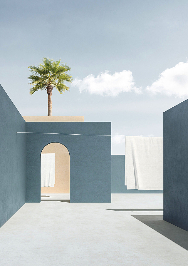 Minimalist Open-Air Architectures By Massimo Colonna