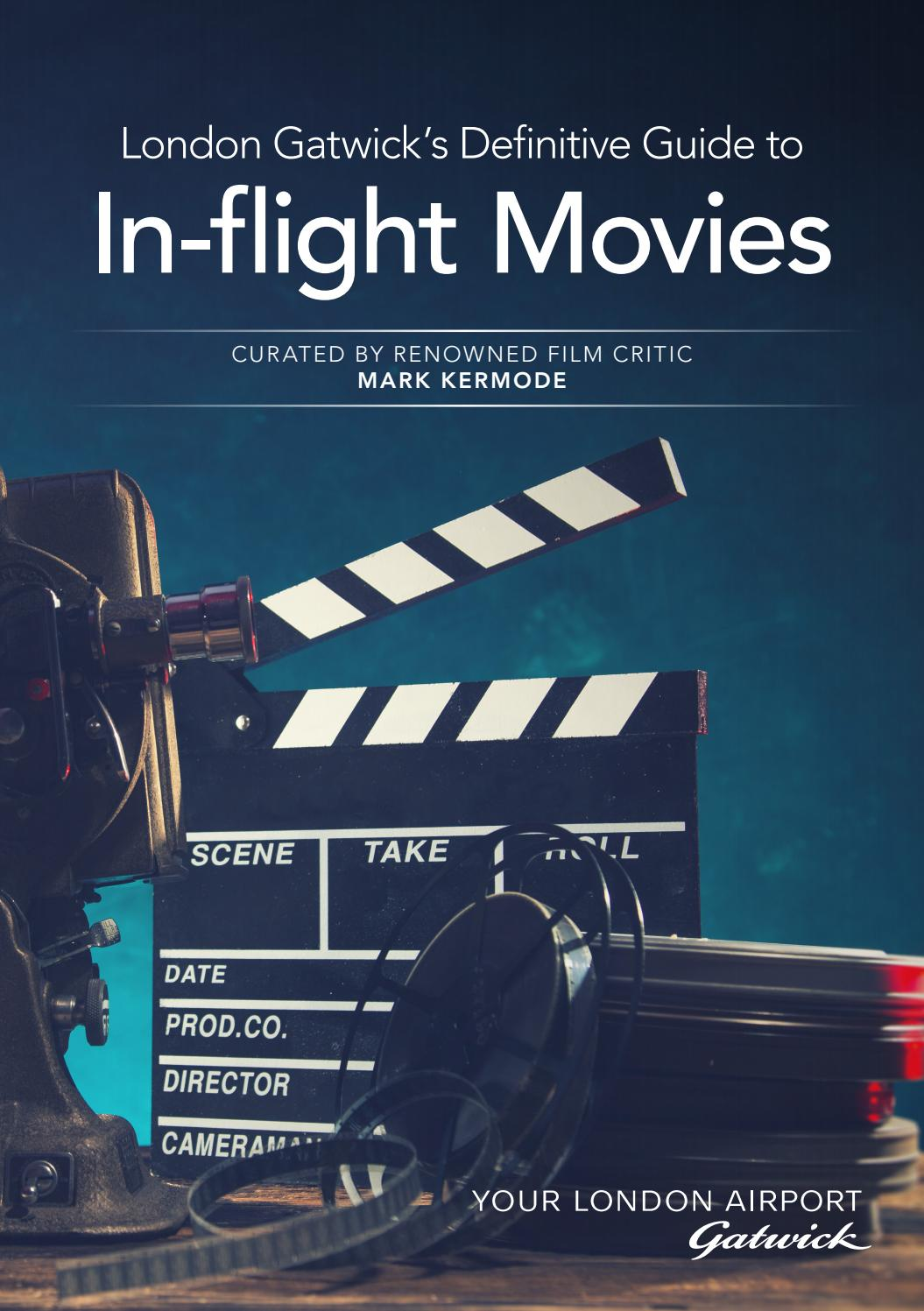 Gatwick guide to in flight movies
